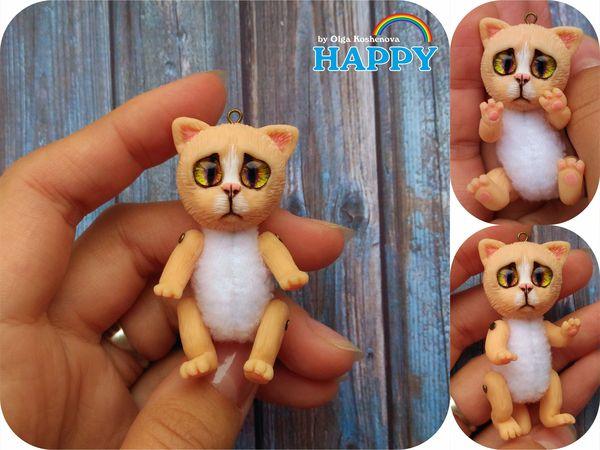 Mini toy cats