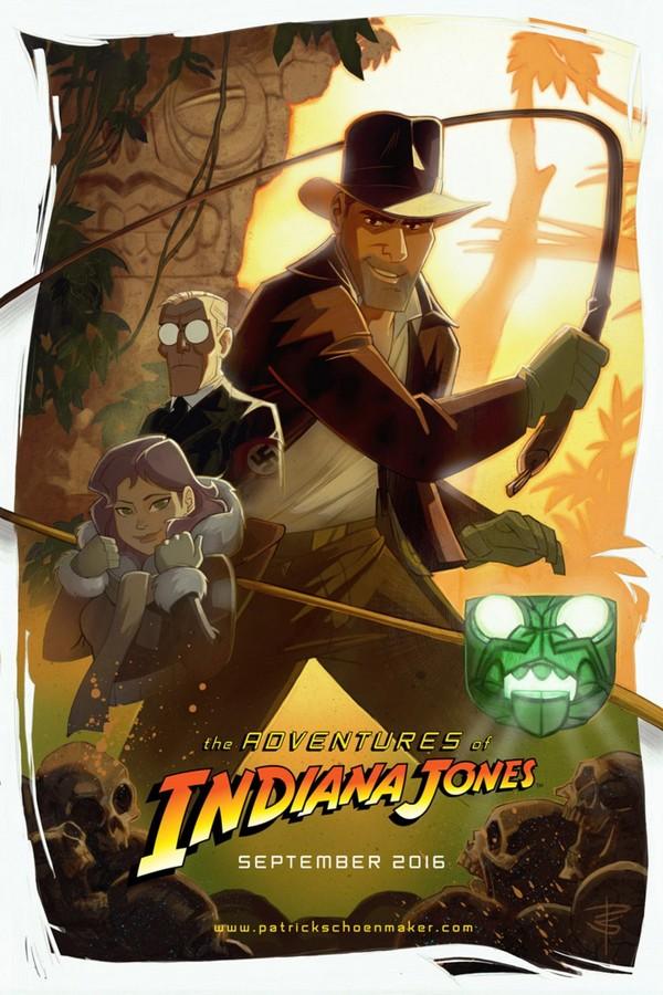 Приключения Индианы Джонса Индиана Джонс, Видео, Мультипликация