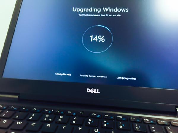 Жду не дождусь фильма Windows 10, Обновление