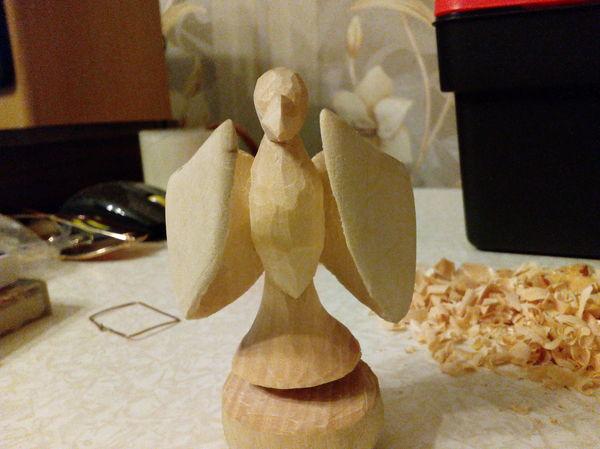 Первый пост. Работа с деревом, Деревянная скульптура, Липа, Резьба, Резьба по дереву