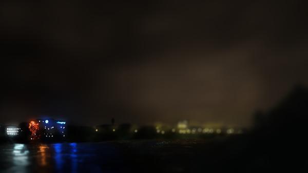 Огни ночного города Icewizard, Город, Река, Анимация, Гифка, Adobe After Effects, Видео, Coub, Длиннопост