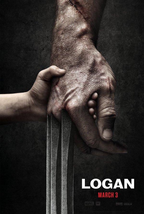 """Первый постер третьего фильма о Росомахе, получившего название """"Logan"""" Постер, Фильмы, Росомаха, Логан, Marvel, Люди Икс, 2017"""