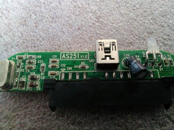 Проблемы с контроллером SATA to USB Ремонт, Sata, Usb, Ремонт техники