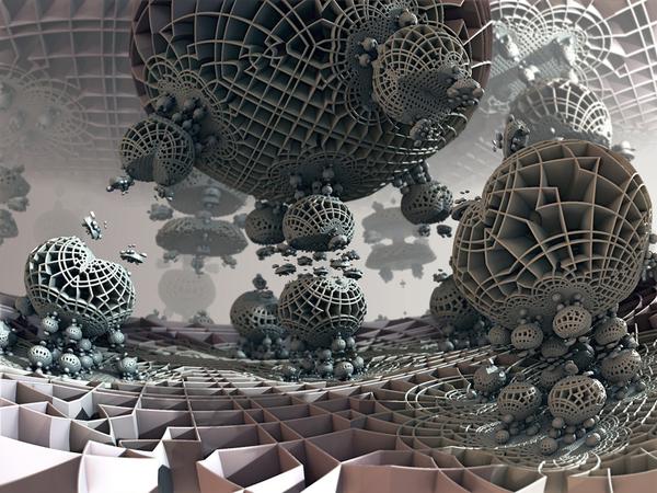 Mandelbulb 3D - генерация фракталов любой сложности Mandelbulb 3D, Фракталы, 3d, Ддиннопост, Анимация, Визуализация, Программа, Софт, Видео, Длиннопост