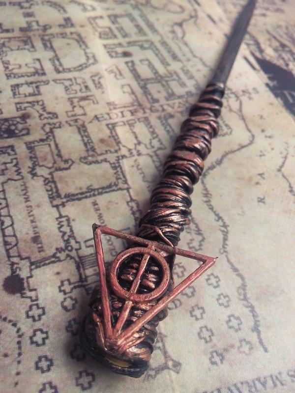 Волшебные палочки Волшебная палочка, Ручная работа, Моё, Полимерная глина, Длиннопост