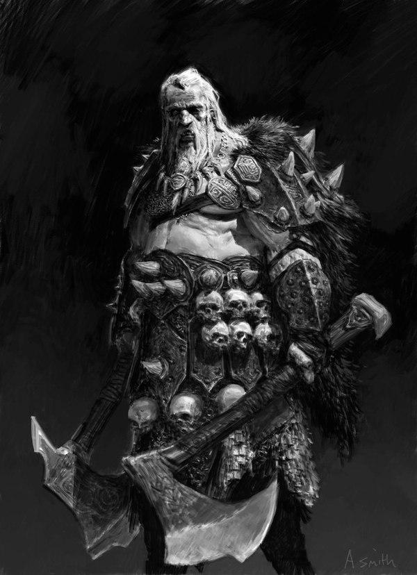 Воины Хаоса. Warhammer fantasy battles, Warhammer, Хаос, Арт, Подборка, Длиннопост