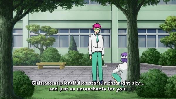 Жестоко. Аниме, Saiki Kusuo, Ep 50, Скриншот