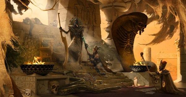 Цари Гробниц. Warhammer fantasy battles, Warhammer, Цари Гробниц, Расы warhammer, Арт, Подборка, Длиннопост