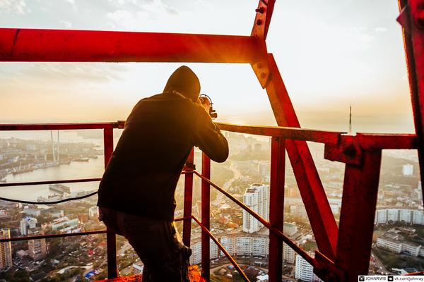Владивосток с высоты птичьего полёта Владивосток, Руферы, Фото, Высота, Длиннопост