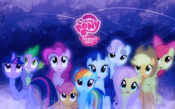Всех с шестилетней годовщиной сериала! My little pony, Годовщина, Mane 6