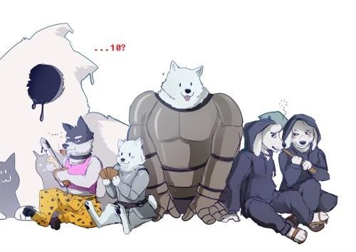 Серьезно, как много собак в этой игре? Undertale, Annoying dog, Greater dog, Собака, Doggo, Dogamy and Dogaressa, Endogeny