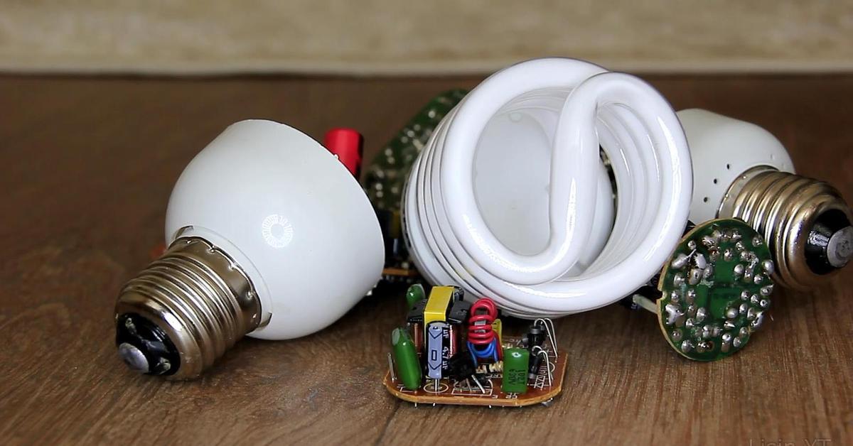 что можно сделать с перегоревшей светодиодной лампой