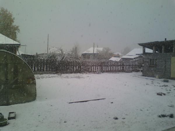 Праздник к нам приходит Картинки, Снег, Текст