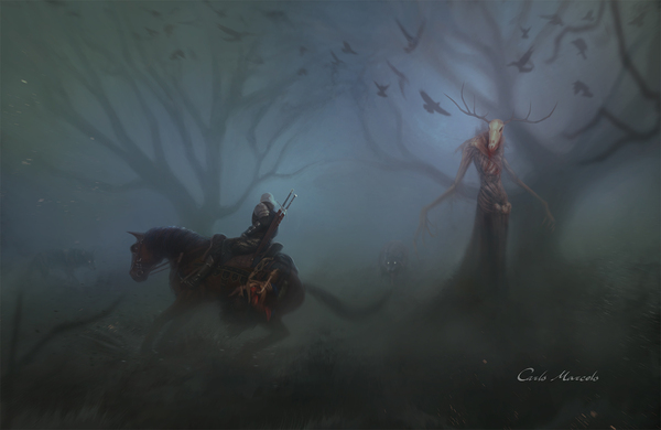 Суровые будни ведьмака ведьмак, Геральт из Ривии, суровые будни, длиннопост