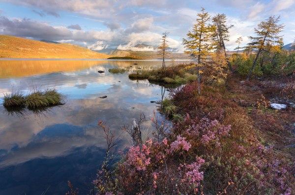 Озеро Джека Лондона Озеро Джека Лондона, Магаданская область, Россия, осень, Природа, пейзаж, Фото, надо съездить, длиннопост