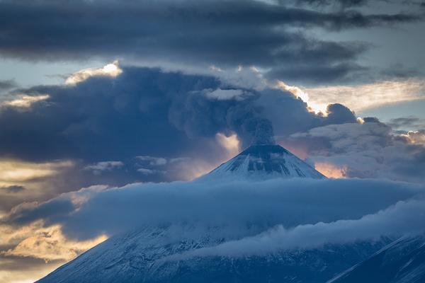 Уникальная Камчатка камчатка, вулкан, медведь, природа, извержение, пещера, длиннопост