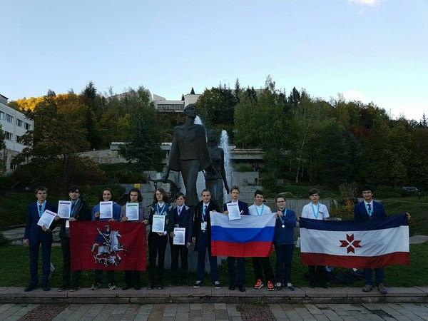 Поздравляем российскую сборную по астрономии! астрономия, Межнар, олимпиада, международная олимпиада