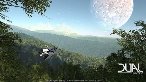 Космосимы Космосимы, Kickstarter, Видео, Длиннопост, Dual Universe