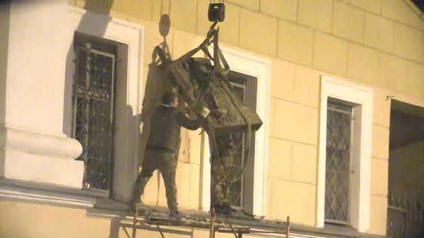 Маннергейма отодрали и увезли Политика, Маннергейм, Санкт-Петербург, Длиннопост