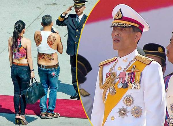Пользователи сети сравнили будущего короля Таиланда с Тимати Маха Вачиралонгкорн, Таиланд, Король, Тату, Тимати, Стиляги, Майка, Живот