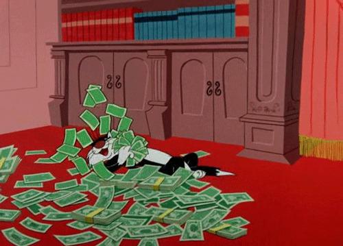 Филантроп из Магнитогорска разбросал 50 миллионов рублей в конвертах на улицах города Деньги, Магнитогорск, Мешки, Халява, Гифка