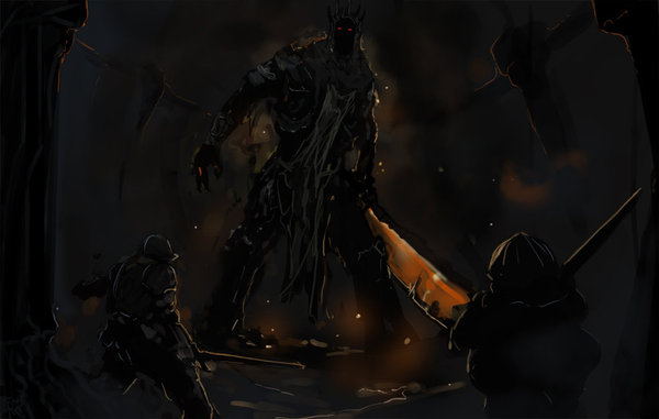 Yhorm... Old Friend... Dark souls, Yhorm the Giant, DeviantArt, Game art, Длиннопост