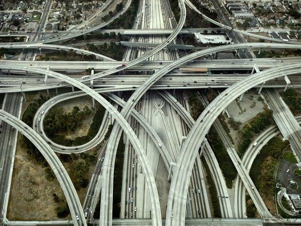 Развязка судьи Гарри Преджерсона World of building, Сооружения, Архитектура, Строительство, Развязка, США, Познавательно, Интересное, Длиннопост