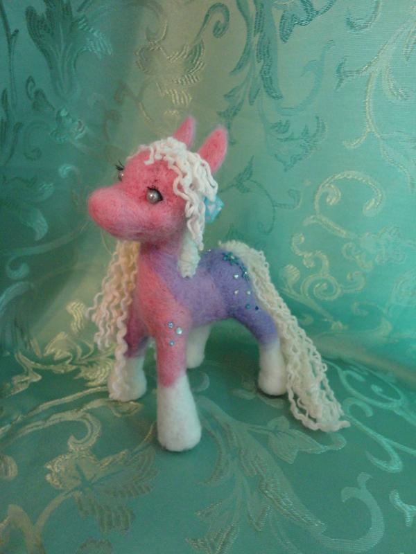 Пони из шерсти сухое валяние, пони, ручная работа, <em>валяние</em> моё, игрушка из шерсти, длиннопост