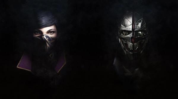 Corvo Attano & Emily Kaldwin Арт, Dishonored 2, Dishonored, Игры, HD