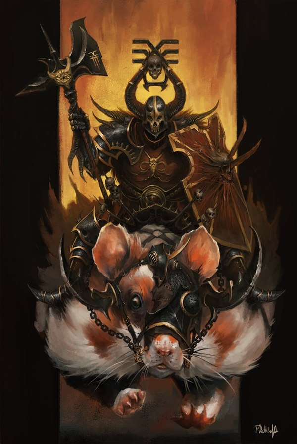 Lord of Khorne on... Hamster