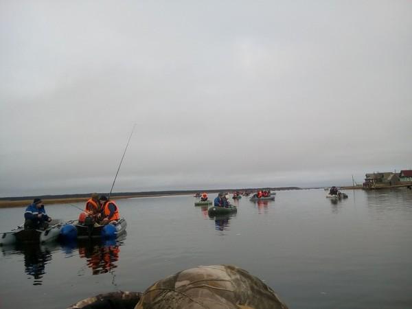Так у нас ловят навагу когда она заходит в губу Белое море, Рыбалка