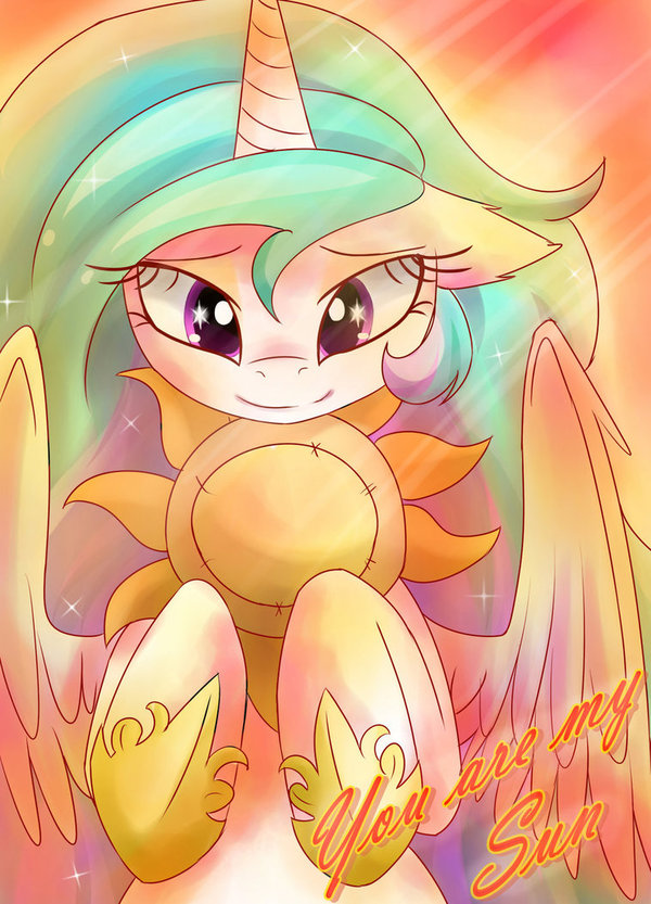 Не теряй своё солнце My little pony, Princess Celestia, Ponyart