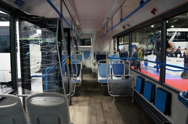 КАМАЗ показал автобус, работающий от розетки Россия, Прогресс, Камаз, Автобус, Электробус, Экология, Инновации