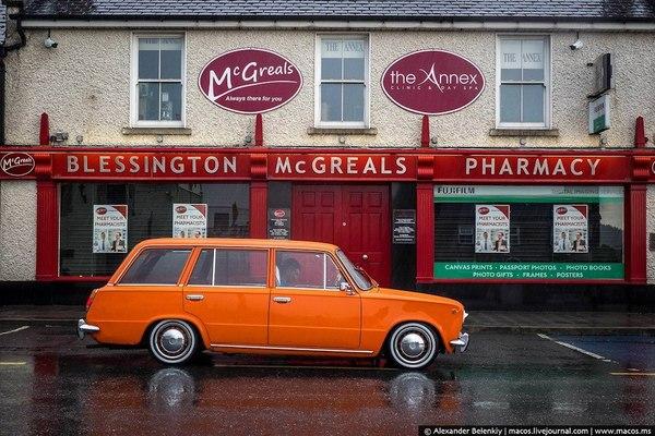 ВАЗ2102 1977года в Ирландии, романтичные фото Красота, Фото, Красивое, ВАЗ 2102, Ирландия, Пейзаж, Романтика, Длиннопост