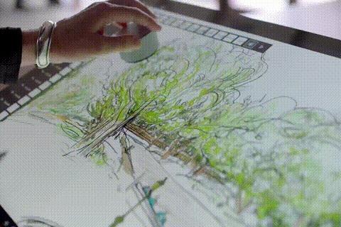 3D Рисование в Surface Studio