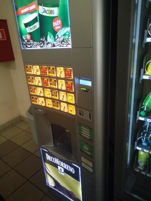 Борщ в кофейном автомате о_О Польша, Кофейный автомат, Борщ, Странности, Якобс, Универ, Длиннопост