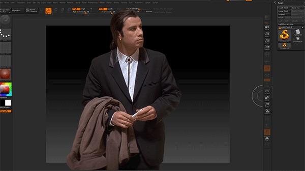 Первый раз в 3D редакторе.