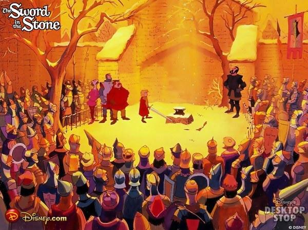 Призвание Артура на царствие Король Артур, Мерлин, Walt Disney Company, Мультивселенная, Меч короля Артура, Длиннопост