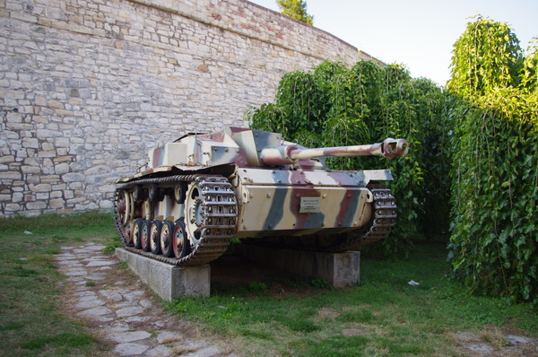Попав в Белградскую Крепость Калемегдан, как фан WoT, был приятно удивлён :) Сербия, Белград, Танки, World of Tanks, Путешествия, Крепость, Длиннопост