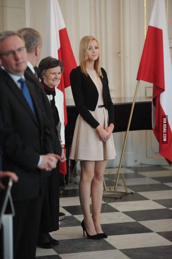 Дорогие Пикабушники представляю вам дочь президента Польши