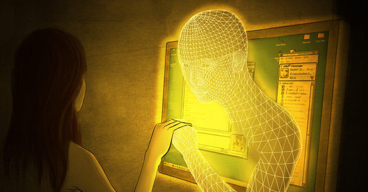 теперь виртуальное общение с девушкой вирт мужчина получает домашний