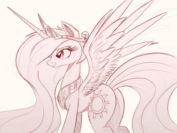 Pretty princess horsie My little pony, Princess Celestia, KK, Sunbutt, Ponyart