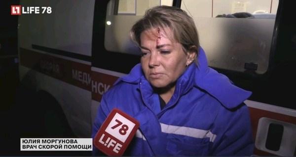 Пьяная компания избила экипаж скорой помощи в Петербурге. новости, Происшествие, Врачи, Санкт-Петербург