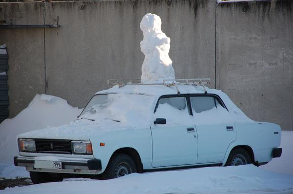 Бабы с выездом на дом... снежные ;-)