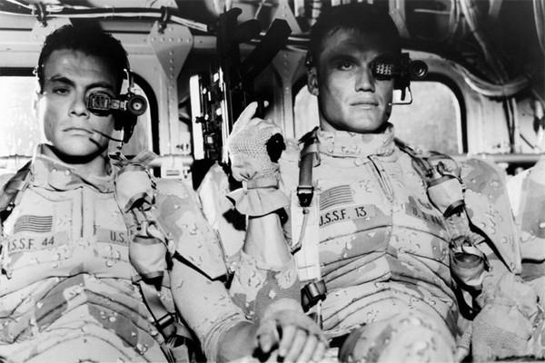 """Вырезанные сцены из """"Универсального солдата"""" dubikvit, универсальный солдат, Жан-Клод Ван Дамм, Дольф Лундгрен, видео, длиннопост"""