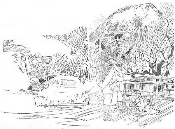 Воробей без языка. Японская сказка Япония, Мифы, Легенда, Истории, Сказка, Воробей, Длиннопост