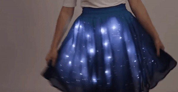 Звездное платье
