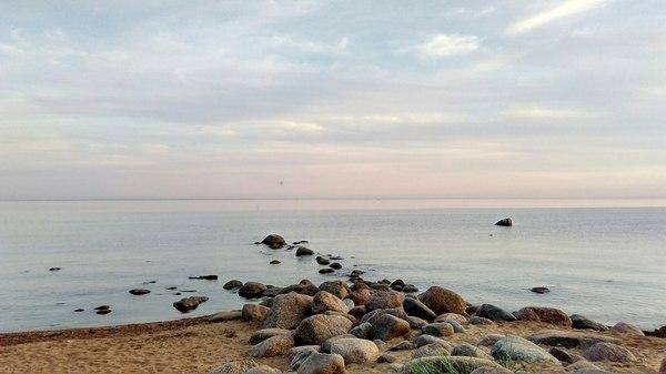 Полтора дня теплого Финского залива Финский залив, Закат, Лето