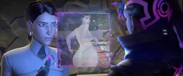 Boop Overwatch, Sombra, Reaper, Katya Volskaya, Zarya, Widowmaker, Boop
