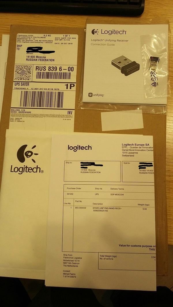 Продолжение о сервисе Logitech logitech, сервис